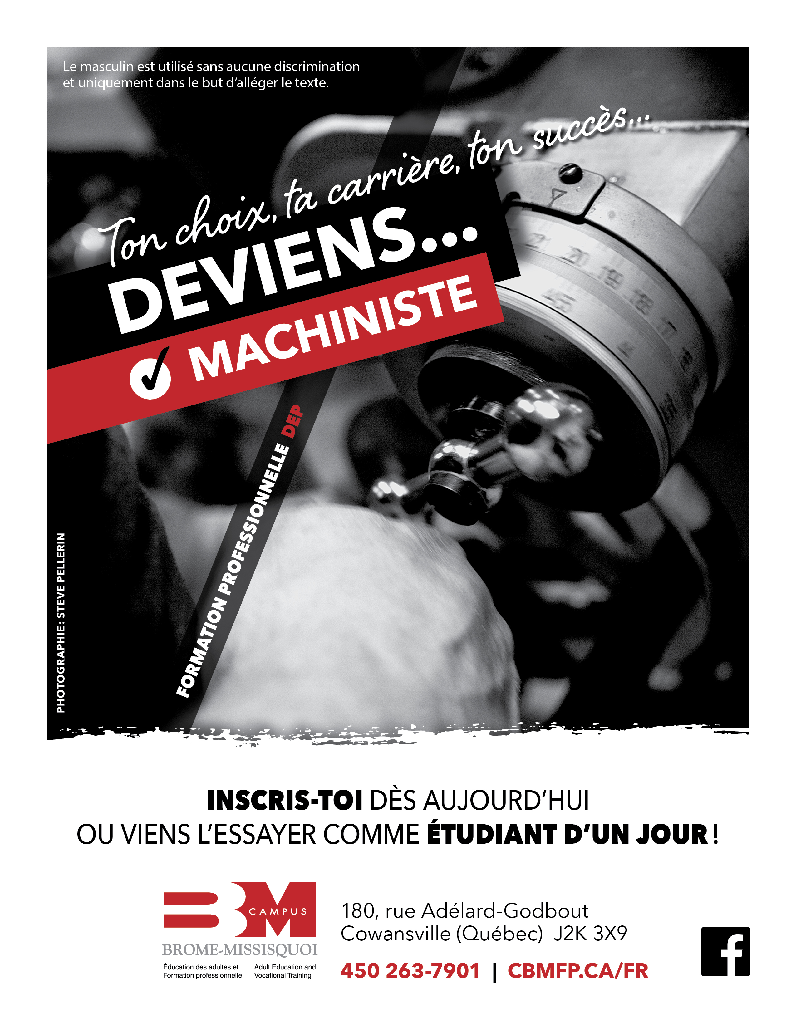 Deviens machiniste, inscris-toi!!